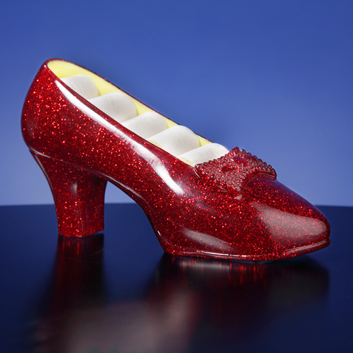 'Ruby Slippers' Musical Jewelry Holder