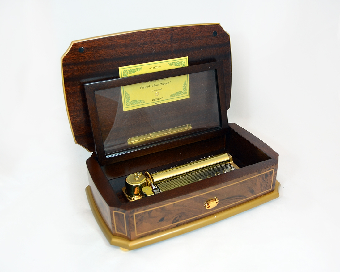 Classico Gold Pattern Luxury Music Box