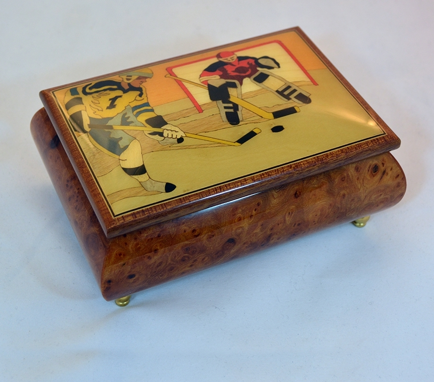 Hockey Jewelry Box