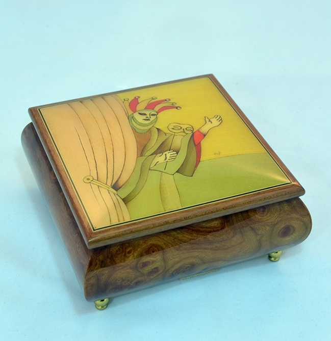 Theater jewelry box