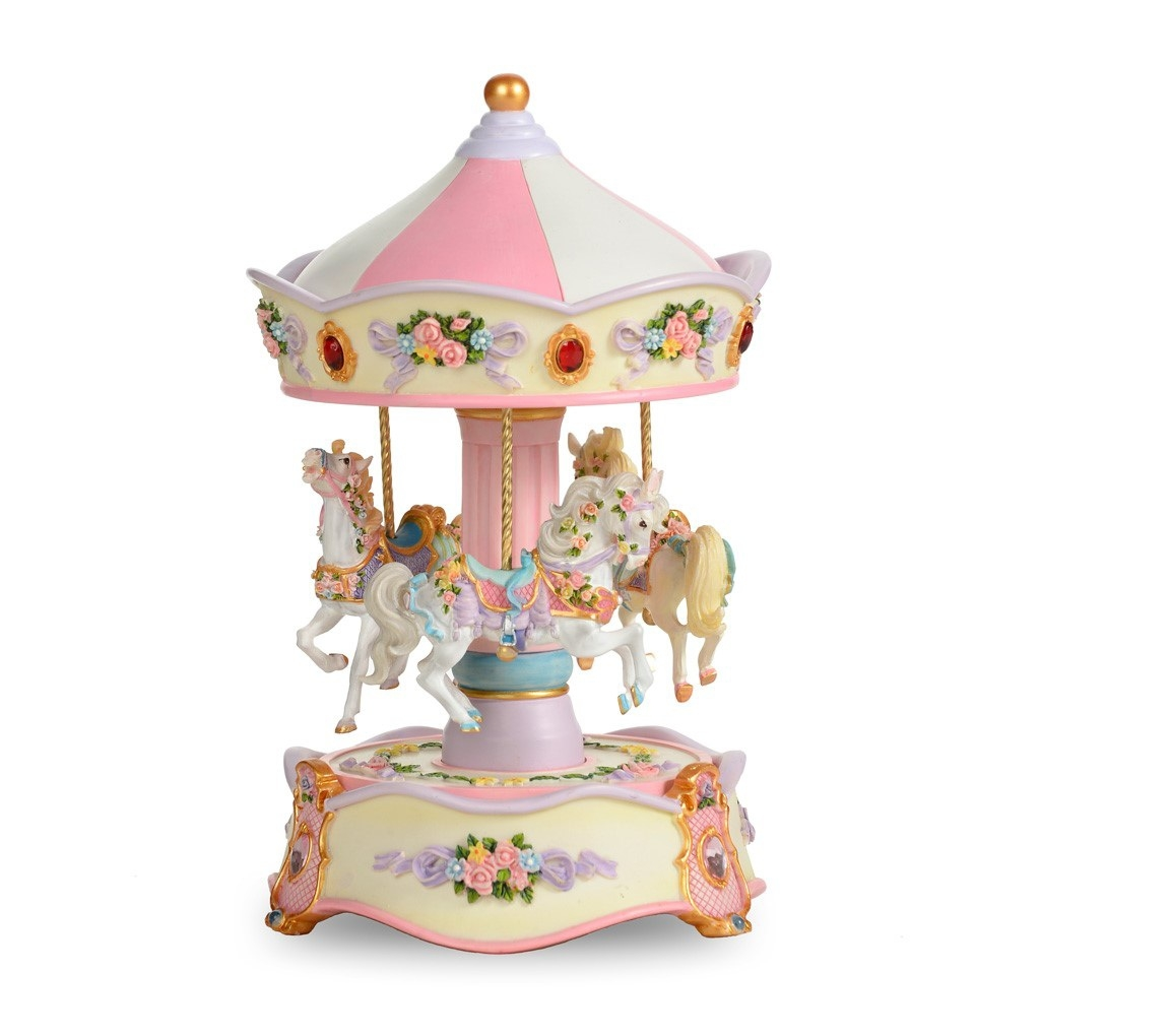 Classic Carousel Pink