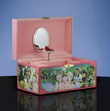Oz Ruby Slippers Musical Jewelry Box