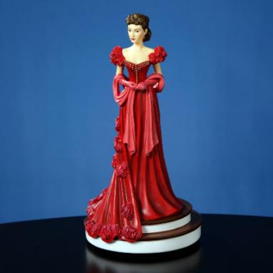 Scarlett's Red Dress Figurine