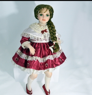 Anna The Musical Porcelain doll