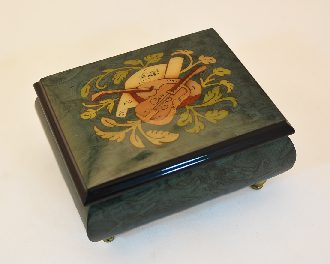 High Gloss Music box Hunter green