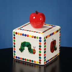 Very Hungry Caterpillar w Apple Music Box
