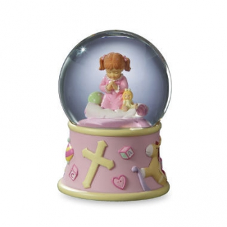 Bedtime Prayers Girl, Rotating 100mm WG