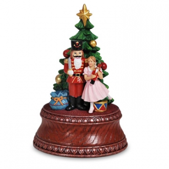 Classic Nutcracker Tree Figurine