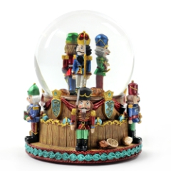 Nutcracker Soldiers 120mm Water Globe
