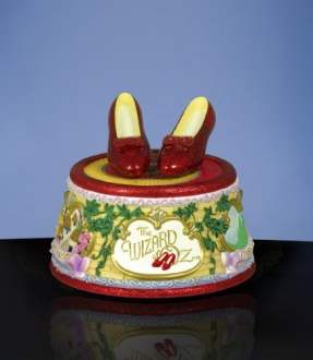Ruby Slippers Click Figurine