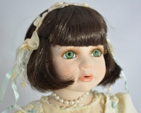 Fleur, the Musical porcelain doll