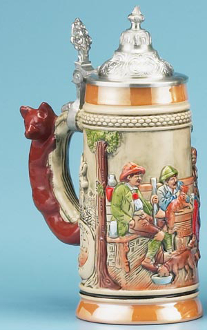 Forest Meadows Stein Authentic Beer Steins From Germany