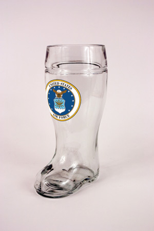 1.0 L GLASS AIR FORCE BOOT