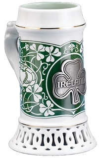 Ireland Stein Without Lid