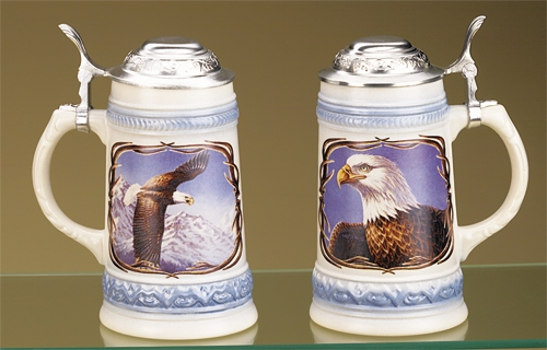 *JAMES MEGER BALD EAGLE I STEIN