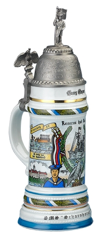REGIMENTAL STEIN, NAVY