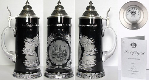 Lord of Crystal Limited Edition Munich Germany Beer Stein .5L