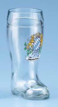 1.0 L OKTOBERFEST GLASS BOOT