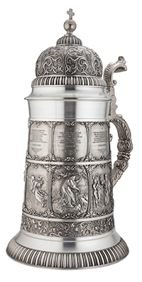 1.75L Giant Creation Pewter Set