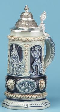 PETER DUEMLER ROYALTY BEER STEIN