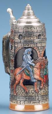 CASTLE TOWER BEER STEIN