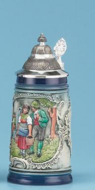 TRADITIONAL STEIN, RUSTIK BLUE
