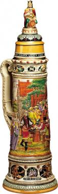 WORLD'S LARGEST STEIN
