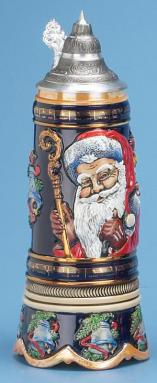 OLD WORLD SANTA STEIN W/ MUSIC MOVEMENT