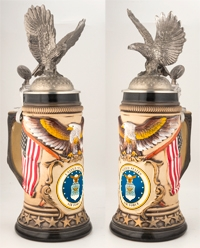 Eagle with Air Force Stein