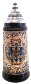 SPECIAL BUY  1/2L Deutschland Germany Crests German Beer Stein