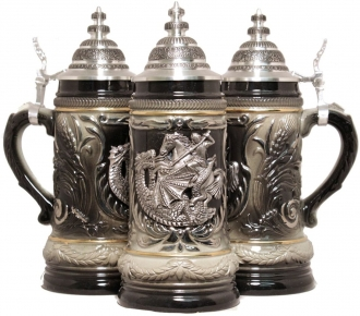 St George the Dragon Slayer LE German Beer Stein