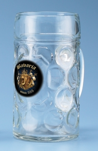 Isar Tankard with Bavarian Oval Crest