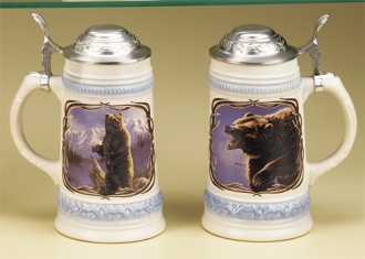 JAMES MEGER GRIZZLY BEAR STEIN