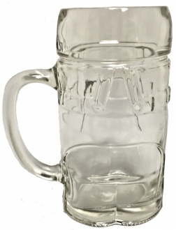 Men's Lederhosen Pants Glass Drinking Beer Stein Mug Cup .5 L Made in Germany