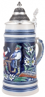 Salt Glaze Good Bartender Stein