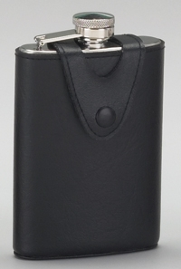 STAINLESS STEEL FLASK W/ COVER