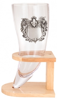 Wedding Horn With Medallion