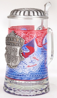 Czech Heritage Stein With Medallion