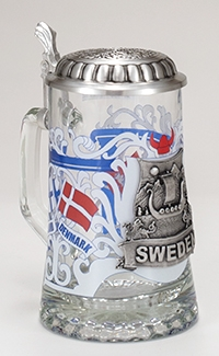 Sweden Glass Stein
