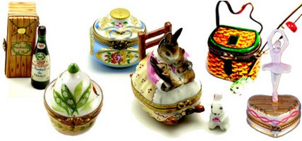 Limoges Boxes and Figurines