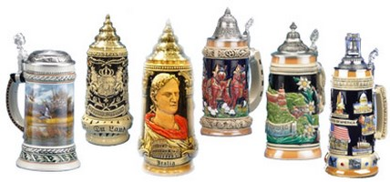 Beer Steins-German Traditional
