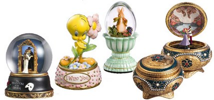 Unique Collectible Music Boxes
