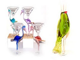 Murano Martini Glasses