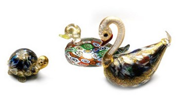 Murano Murrine Glass