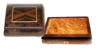 Ornamental Music Boxes