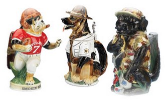 Dogs Figurine Beer Steins
