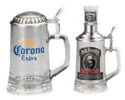 Special Designs Glass Beer Steins