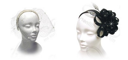 Headbands Style Church Hats