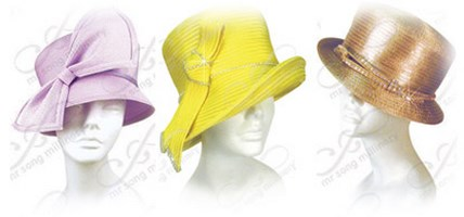 Small Brim Church Hats