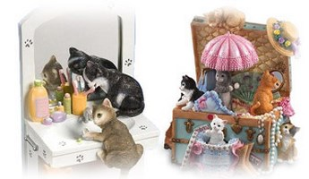 Kitty Cats Music Boxes